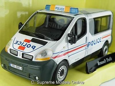 Renault Trafic Police Model Van 1/43Rd Scale Traffic Packaged Issue K8967Q~#~