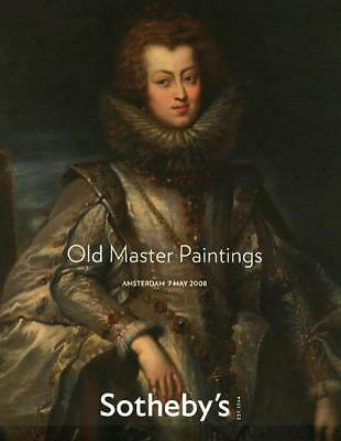 Sotheby's Old Master Paintings Amsterdam Auction Catalog 2008
