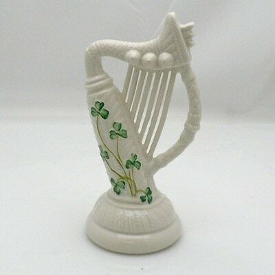 Belleek SHAMROCK HARP NEW! Made in Ireland
