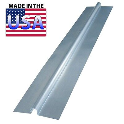 "(100) 4 ft Snap On Aluminum Heat Transfer Plates for 1/2"" PEX Omega"