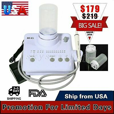 Portable Dental Ultrasonic Piezo Scaler Handpiece Tips 2 Bottles f/ EMS FDA USA