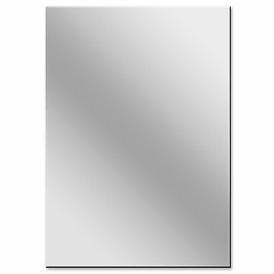 A3 Acrylic Silver Mirror Perspex Sheet 3mm Plastic Panel 297mm x 420mm
