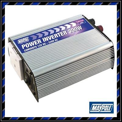 Maypole 300W Watt Power Inverter DC 12V to AC 220V / Car / Caravan Invertor