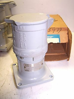 New Crouse Hinds Qeh 2634 Arktite Receptacle M72 5 Hp 3Ø 60/30A 230/480V 3W 4P
