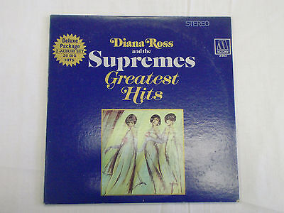 Diana Ross and the Supremes Greatest Hits 1967 Motown Double LP 2-663 Stereo