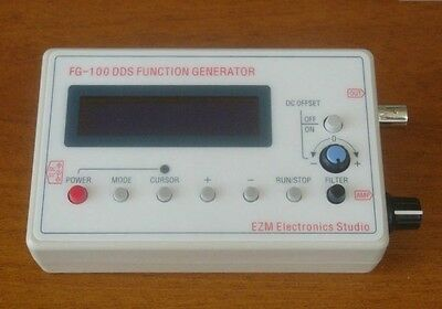 1HZ -500KHz DDS Function Signal Generator Module Sine+Triangle+Square Wave +case