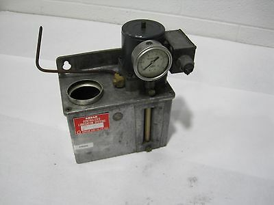 Omega Centralized Lubrication System G0-3Hs3/C-3A No.8849 W/Oriental Ind. Motor
