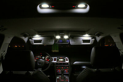 SMD LED Innenraumbeleuchtung Seat Exeo 3R Komplettset Xenon weiss