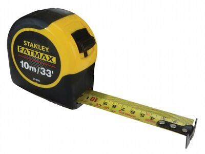 Stanley Fatmax Tape with Blade Armor 10m/33Ft  0-33-805 STA033805