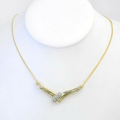 .75ctw Diamond Pendant Necklace Solid Yellow Gold