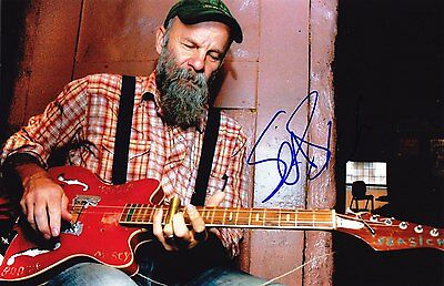 Seasick Steve Very Rare Amazing In Person Signed W/proof !