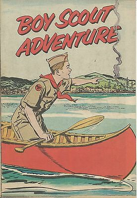 Boy Scout Adventure 1954 Rare Giveaway Promo Comic Nm Scouts Of America