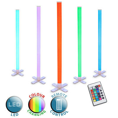 Colour Changing LED Disco Stick Light Party Tube Strobe Light + Remote Control
