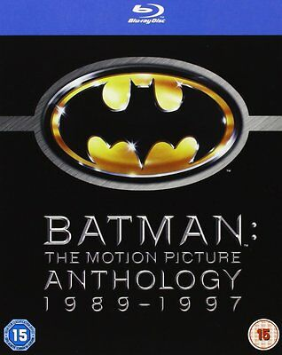 Batman The Motion Picture Anthology BLU RAY RB Returns Forever and Robin not DVD