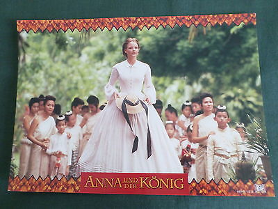 JODIE FOSTER - GERMAN LOBBY CARD- 8.25x11.50- ANNA AND THE KING
