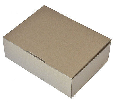 100 Mailing Boxes BX1 Packing Cardboard Carton 230mm x 171mm x 78mm Die Cut New