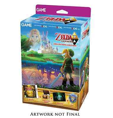Zelda A Link Between Worlds Collector's EDITION 3DS PAL *BRAND NEW!* + Warranty!