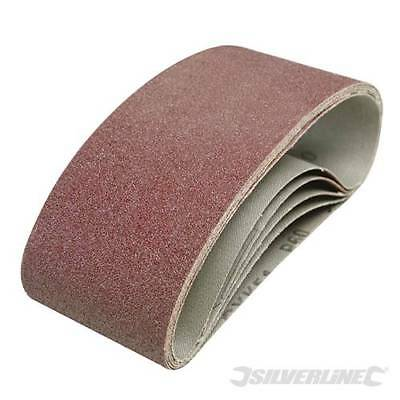 75 X 533 QUALITY SANDING BELTS PACKS OF 10 FIT BOSCH PBS75A 40 60 80 120  GRIT r