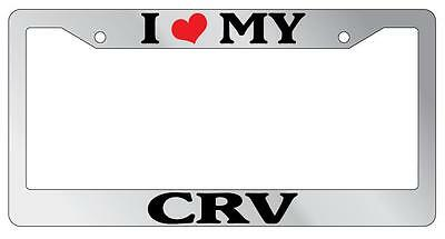 Black License Plate Frame I Heart My Mustang Cars Auto Accessory Novelty 1631