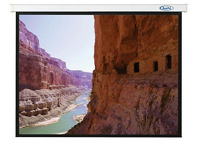 """Buhl Industries EC9696 Projector Screen - 96"""" x 96"""" - Uses Standard Wall Outlet"""