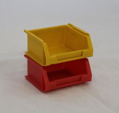 10 x High Quality Recycling Plastic Storage Parts Workshop Boxes/Bins 0.3L