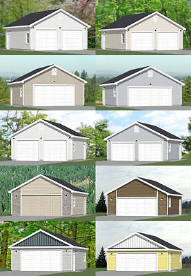 28x28 2 car garage pdf floor plans 24 x 28 garage plans free