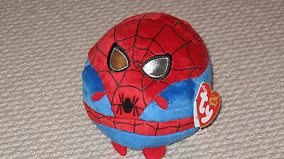Ty Beanie Ballz - Spiderman - Brand New With Tags