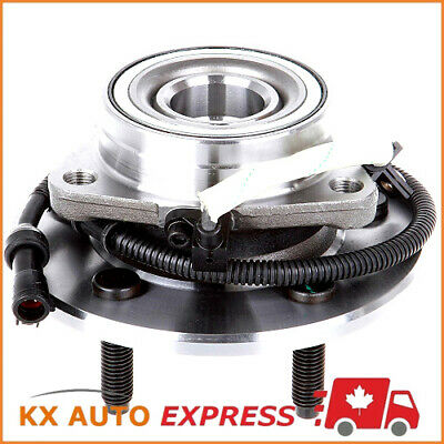 FRONT WHEEL BEARING & HUB ASSEMBLY FOR FORD F150 4WD 2001 2002 2003 5 Studs Hub