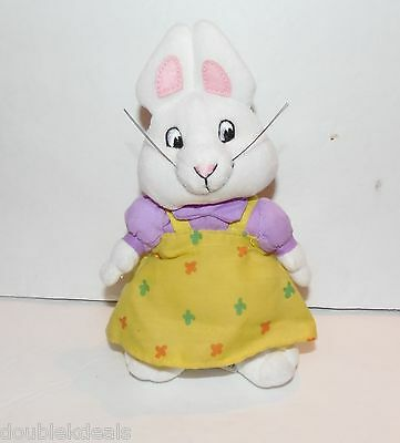 """Max And Ruby Plush Bunny 7"""" Tall - Bean Bag Bottom By Ty"""