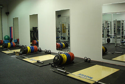Acrylic Mirror Sheet 600Mm X 1200Mm X 3Mm Excellent Reflection Ideal For Gym's