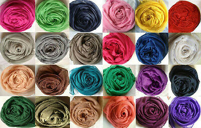 Fashionable Plain Oversize Maxi Scarf/hijab - Many Colour Listing !! Brand New
