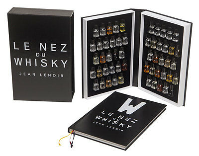 Le Nez du Whisky, 54 arômes - Editions Jean Lenoir - english