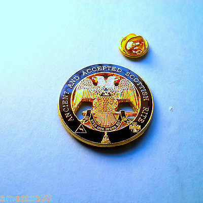 Large Scottish Rite 32nd Degree Lapel Pin