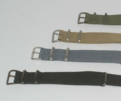 G10 NYLON mens military/divers watch strap 16mm 18mm 20mm 22mm army band