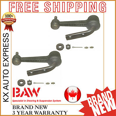 2X Front Steering Idler Arm Chevrolet Astro Rwd 1999 2000 2001 2002