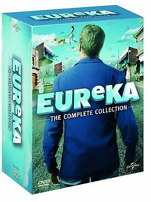 """EUREKA 1-5 (2006-2012): """"A Town Called"""" COMPLETE TV Seasons Series R2 DVD not US"""