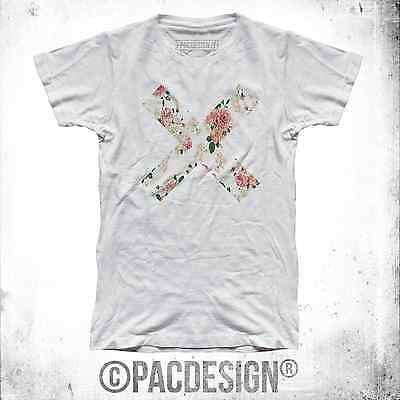 T-Shirt Uomo X Flower Vintage Flowers Indie Coexist Xx Why So Vintage Ne0039A