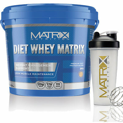 Matrix Diet Whey Protein Powder - Shake Drink - Weight Management - All Flavours