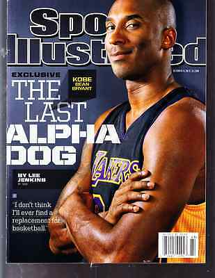 October 21, 2013 Kobe Bryant Los Angeles Lakers Sports Illustrated NO LABEL