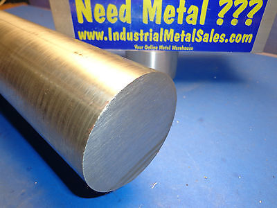 """410 Cold Finished Stainless Steel Round Bar 3"""" x 12""""Long-- 3"""" Dia 410 Stainless"""