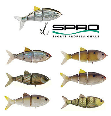 "SPRO BBZ-1 SWIMBAIT 4"" SLOW SINKING various colors"