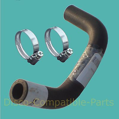 Land Rover Discovery 200 TDi Thermostat To Heater Pipe Hose + Clamps