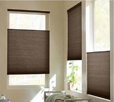 NEW with DEFECTS Top-Down Bottom-Up Cordless Cellular Honeycomb Shade/Blind