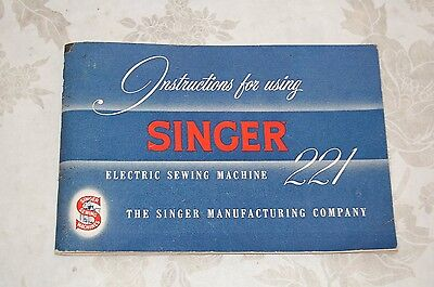 Super Clean Instructions Manual CD for Singer Featherweight 221 Sewing Machine.