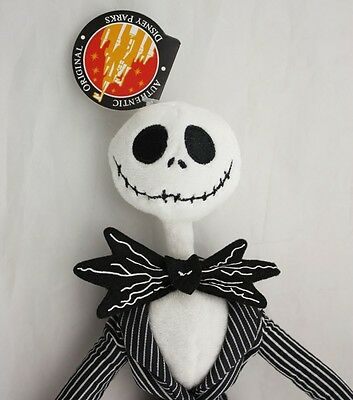 The Nightmare Before Christmas Jack Skellington Power Poseable Plush Doll Gift