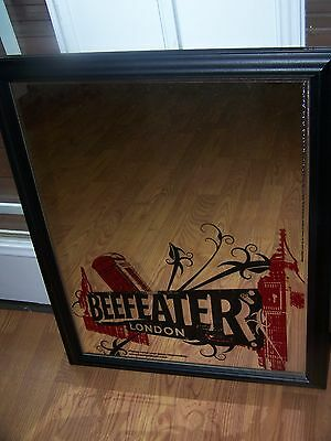 BEEFEATER GIN mirror NEW NEVER DISPLAYED