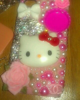 Custom made Hello kitty iphone 4 case