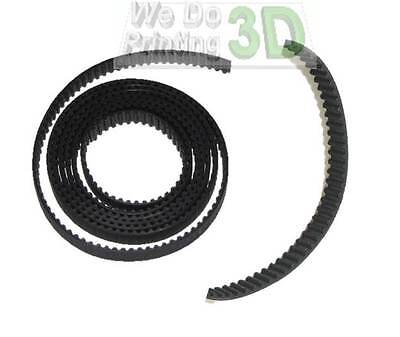 3D Printer T2.5 Timing Belts and 5mm Shaft Pulleys Ideal for Reprap Prusa Mendel