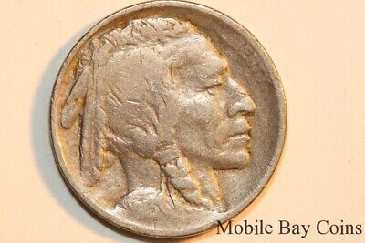 Type 1 Fine 1913 Philadelphia Mint Buffalo Indian Head Nickel Five Cent (BNX676)
