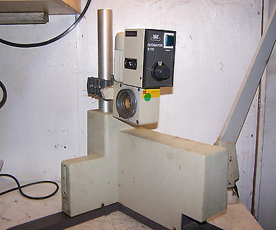 Buchi Model R110 Lab Rotovapor Evaporator With Motor And Stand 110 Volt